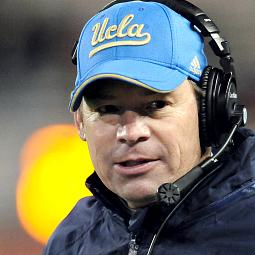 Cadillac On The Scene With UCLA's Jim Mora