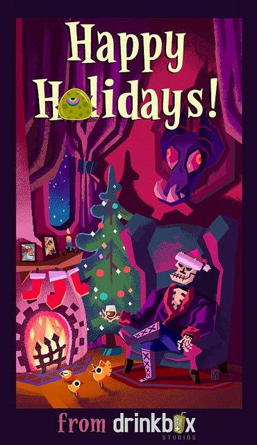 Holiday 2014 Videogame Greeting Card Gallery