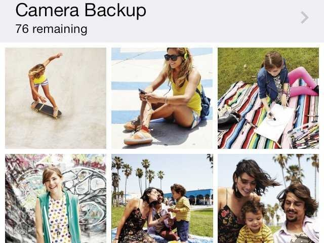 SkyDrive for iPhone photo upload update