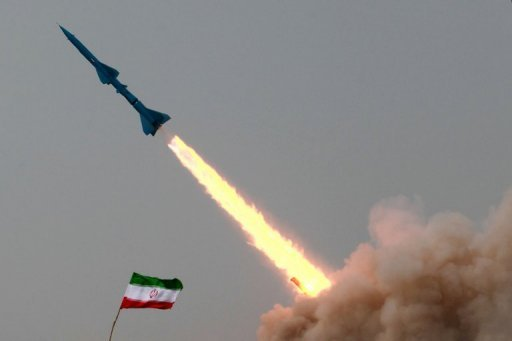 An Iranian short-range missile Tondar (Thunder) is launched during military exercises by Iran&#39;s elite Revolutionary Guards at an undisclosed location in Iran, 2011. Iran&#39;s Revolutionary Guards announced they are to fire ballistic and other missiles at desert targets during three days of war games starting Monday in a warning to threats of military action by Israel and the United States