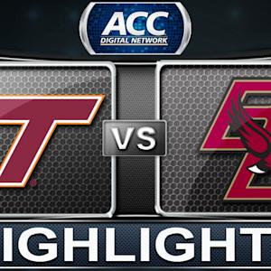 Virginia Tech vs Boston College | 2013 ACC Football Highlights