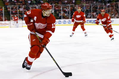 Pavel Datsyuk's 300th career goal was magic because of course it was