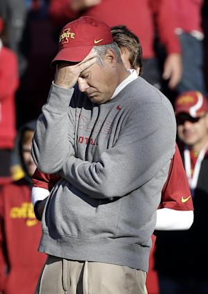 Iowa State opens spring ball with QB questions