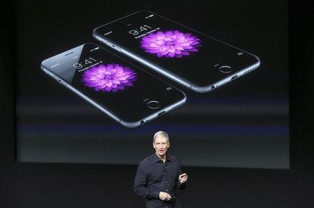 China iPhone sales boosts Apple; shares up modestly