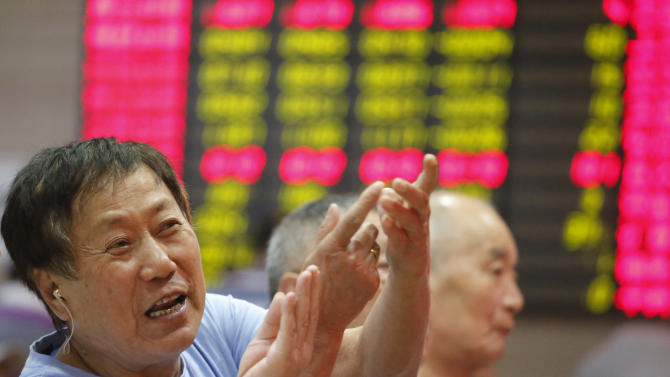 Global stocks up as China manufacturing improves