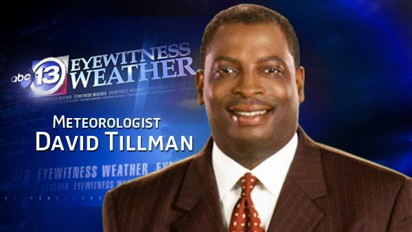 David Tillman's Thursday weather forecast