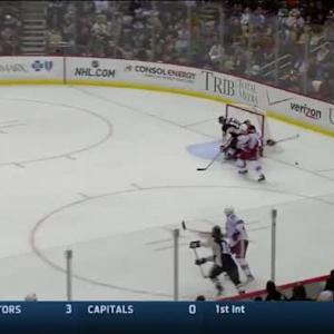 Mike Smith Save on Ben Lovejoy (12:08/1st)