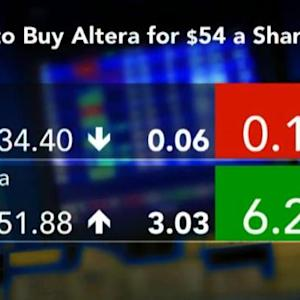 Intel, OM Group Highlight M&A: Stock Market Movers