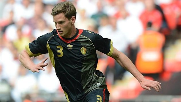 Jan Vertonghen in action for Belgium (PA Photos)