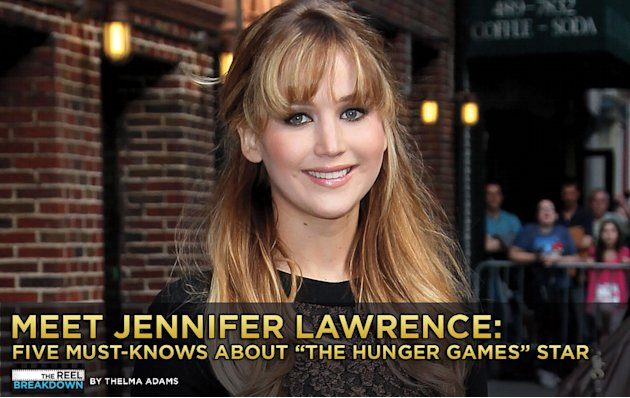 Meet Jennifer Lawrence Title Card