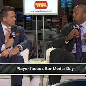 How do players' mindsets change after Media Day?