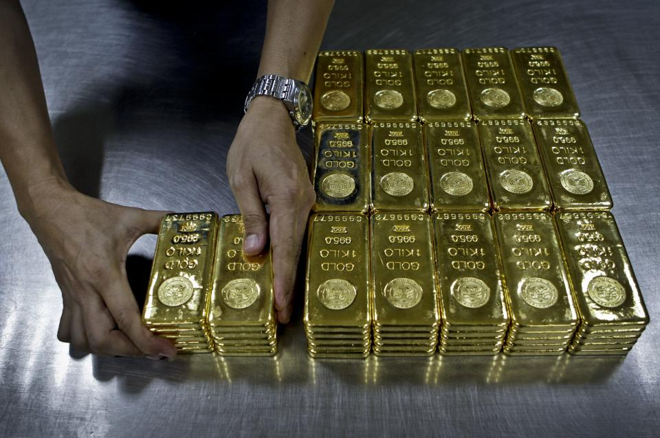 The shine comes off the gold market