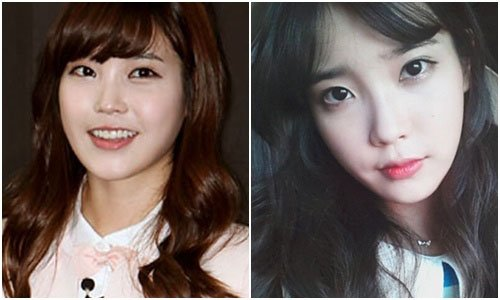 IU makeup, key to the success of baby face makeup