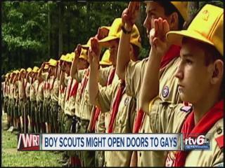 Scouts considering retreat from no-gays policy