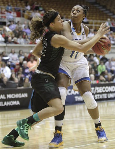 UCLA women score first 11, win 66-49 over Stetson