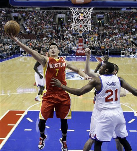76ers snap 5-game skid in 107-100 win over Rockets