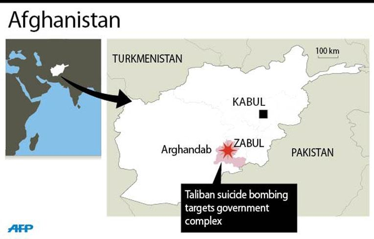 Taliban truck bomber wounds dozens in southern Afghanistan