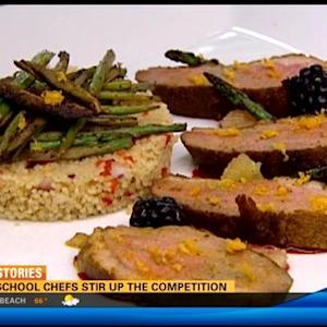 High school chefs stir up the competition
