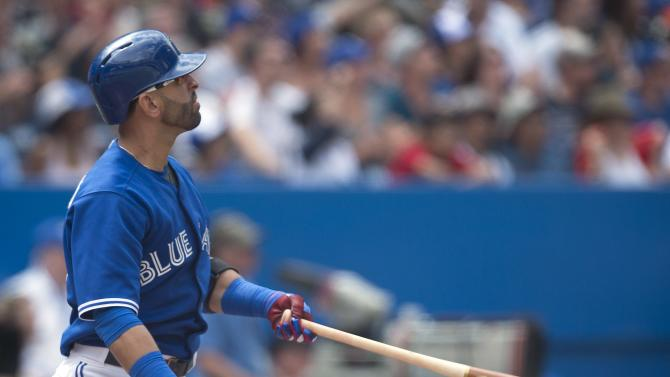Bautista homers again, Jays rally past Yankees 4-3