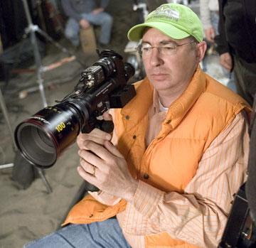 Director Barry Sonnenfeld on the set of Columbia Pictures' RV