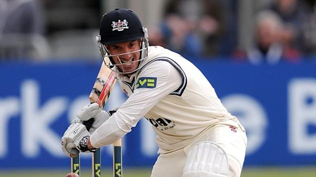 Michael Klinger posted an unbeaten 102 as Gloucestershire made 237 for one declared