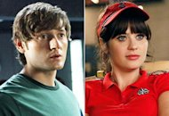 Lucas Neff, Zooey Deschanel | Photo Credits: Patrick Wymore/FOX, Greg Gayne/FOX