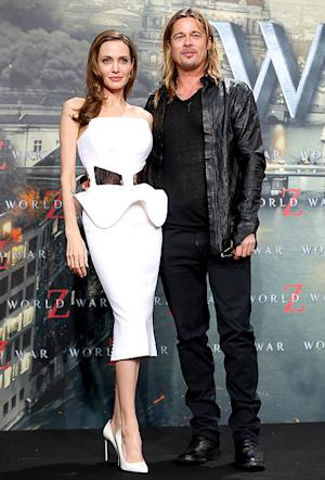 Angelina Jolie Wows in Sexy, Strapless Dress at Brad Pitt's Movie Premiere on Her Birthday
