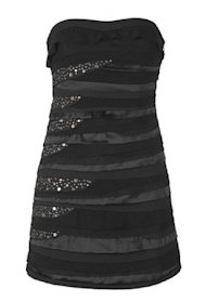 Cecilia de Bucort embellished strapless dress, $164.00.