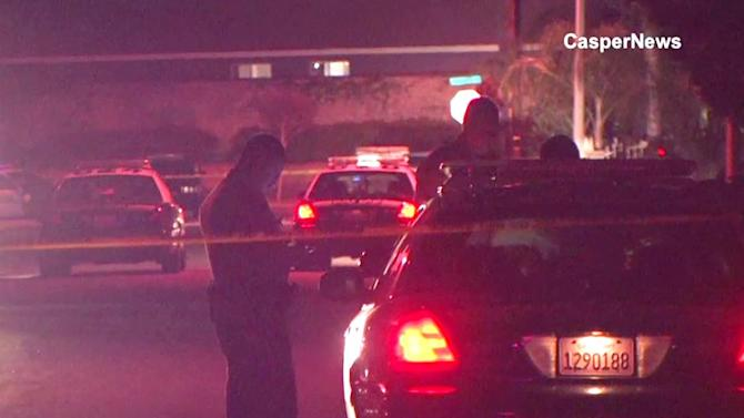 Perris shooting kills 2, injures 1; gunman at large