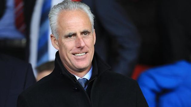 Former Wolves manager Mick McCarthy watches Nottingham Forest v Bristol City from the stands (PA Photos)