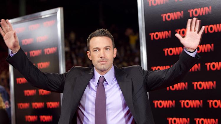 The Town Boston Premiere 2010 Ben affleck