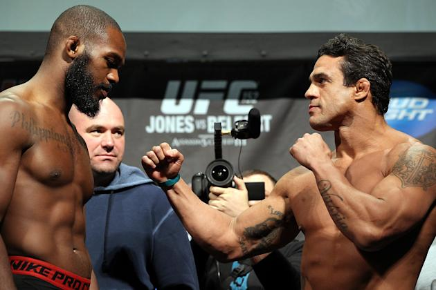 Jon Jones and Vitor Belfort