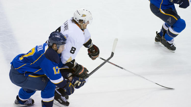 NHL: Anaheim Ducks at St. Louis Blues