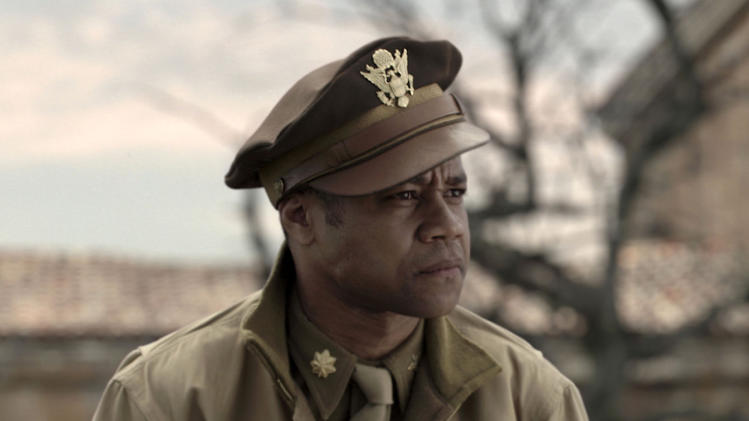 "FILE - In this image released by 20th Century Fox, Cuba Gooding Jr portrays Major Emmanuel Stance in a scene from the film, ""Red Tails."" ""Flight,"" ""Django Unchained,"" ""Beasts of the Southern Wild,"" ""Red Tails"" and ""Tyler Perry's Good Deeds"" are up for the outstanding motion picture trophy at the 44th annual NAACP Image Awards. (AP Photo/20th Century Fox, File)"