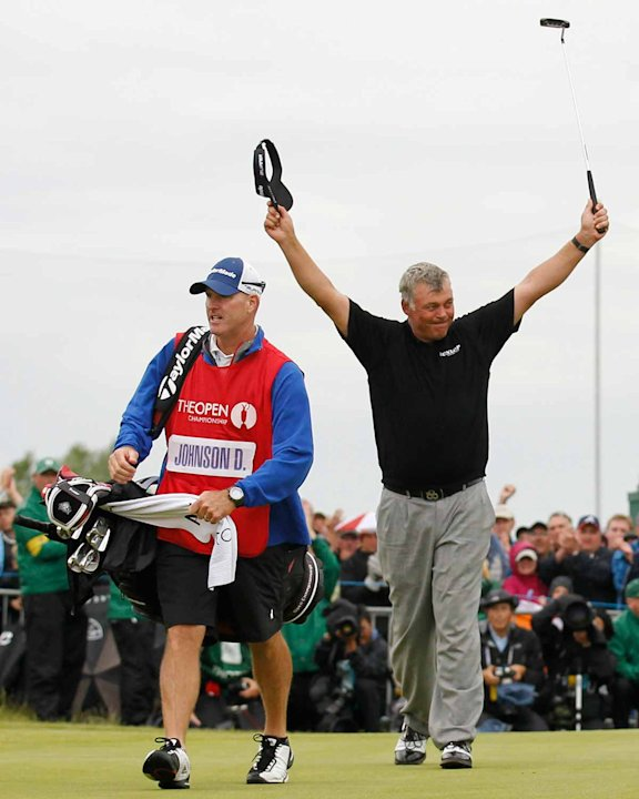 Darren Clarke wins the Open Championship