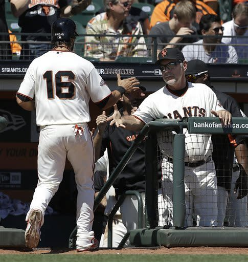Zito delivers again as Posey, Giants sweep Rockies