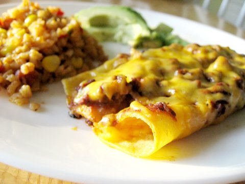 Easy, Cheesy Enchiladas