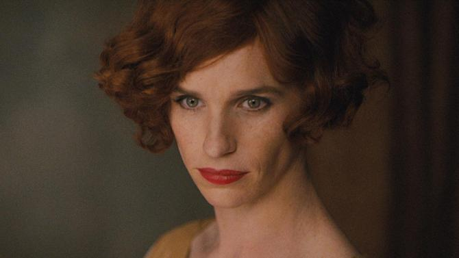 "This photo provided by Focus Features shows, Eddie Redmayne as Lili Elbe, in Tom Hooper's ""The Danish Girl."" The movie opens in U.S. theaters on Nov. 27, 2015. (Focus Features via AP)"