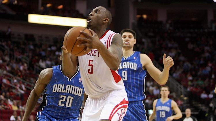 NBA: Orlando Magic at Houston Rockets