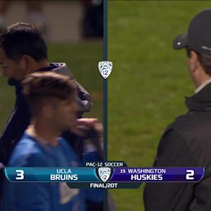 Recap: UCLA men's soccer tops No. 15 Washington with PK