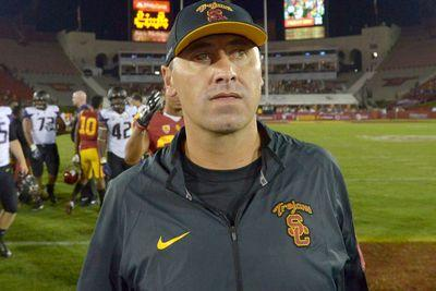 Steve Sarkisian's not as bad as you think, but it doesn't matter. This is USC.