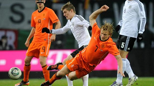 Netherlands against Germany (AFP)