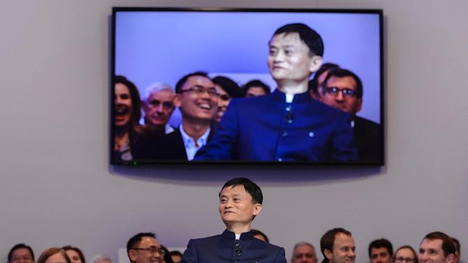 Alibaba completed the world's biggest initial public offering with its $25 billion listing on the New York Stock Exchange in September, making its founder Jack Ma, pictured here, China's richest man overnight