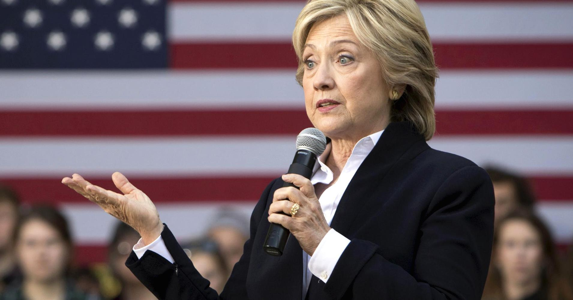 Clinton calls for breaking up too-big-to-fail banks