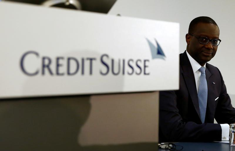 Credit Suisse's Thiam steps up cost cuts, lowers profit goals