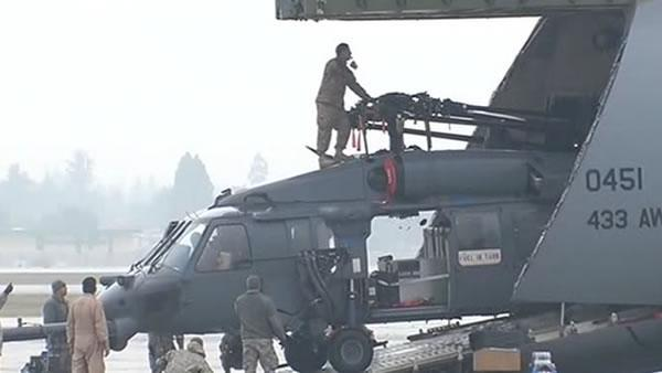 Air Nat. Guard rescue wing deploys to Afghanistan