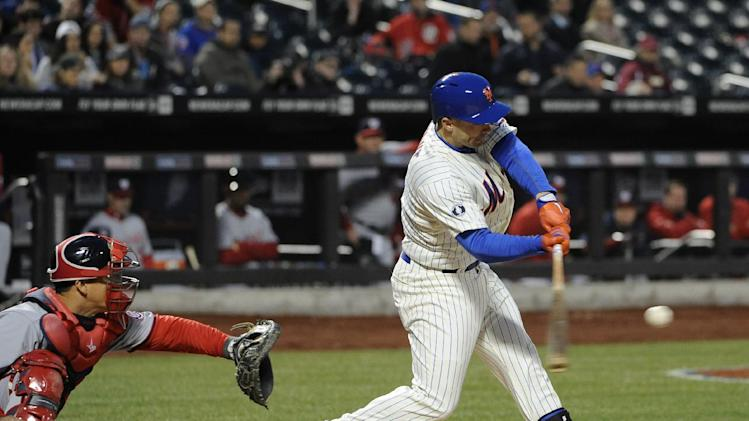 Gio Gonzalez homers, pitches Nats past Mets 5-1