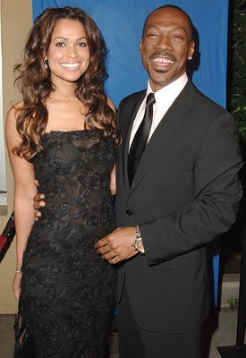 Tracey Edmonds and Eddie Murphy at the Los Angeles premiere of DreamWorks Pictures' and Paramount Pictures' Dreamgirls
