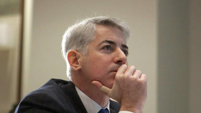 FILE - This Feb. 6, 2012 file photo shows William Ackman of Pershing Square Capital Management in Toronto. Ackman has resigned from J.C. Penney Co.'s board as part of a deal to resolve an unusually public battle between the activist investor and the struggling department store operator. J.C. Penney's rose in premarket trading Tuesday, Aug. 13, 2013. (AP Photo/The Canadian Press, Pawel Dwulit, File)