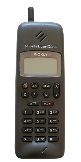 The Nokia 1011 was the first mass-produced GSM phone.